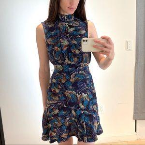 Saloni floral mini dress.